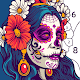 Skull Coloring Book - Color by Number Paint Games for PC