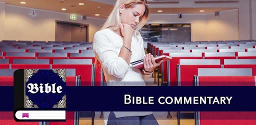 Bible Commentary captures d'écran