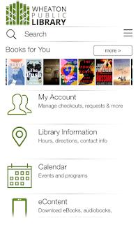 Wheaton Public Library Capturas de pantalla