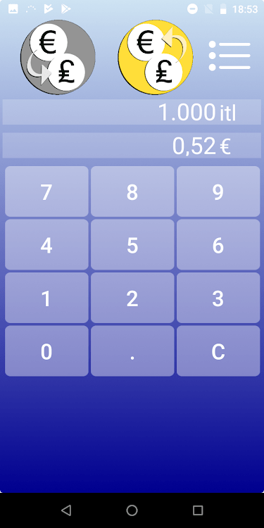 Convert Italian Lira To Usd : convert, italian, Italian, Converter, (Android, Apps), AppAgg