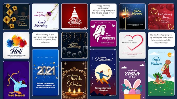 All Festivals and daily wishes, greetings messages Capturas de pantalla