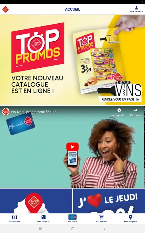 Www.leaderprice.fr Pour Gagner Des Bons D'achats : www.leaderprice.fr, gagner, d'achats, Leader, Price, Réunion, (Android, Applications), AppAgg