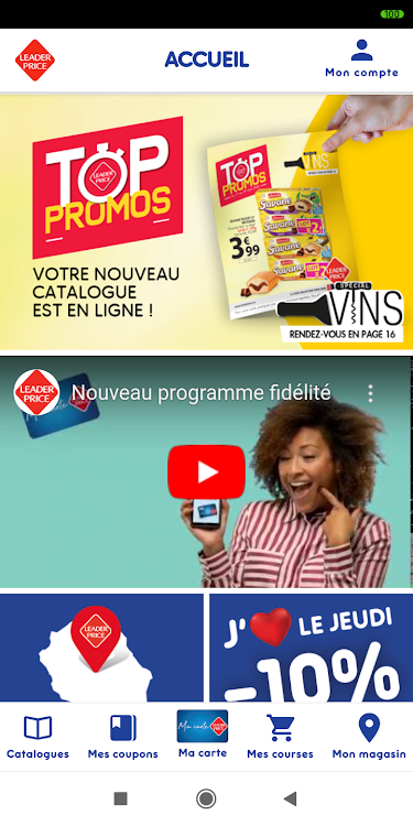 Www.leaderprice.fr Pour Gagner Des Bons D'achat : www.leaderprice.fr, gagner, d'achat, Leader, Price, Réunion, (Android, Applications), AppAgg