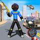 Police Stickman Robot Car Trannsform Hero: Crime for PC