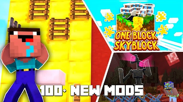 Modster - Mods for Minecraft PE Capturas de pantalla