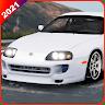 Extreme City Car Drive Simulator 2021: Supra Game icon