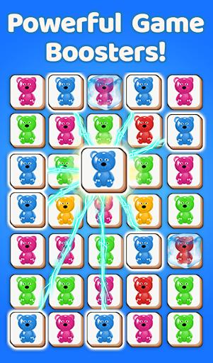 bear tile match 3d game teddy bear