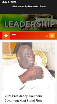 Leadership For Youths Forum Capturas de pantalla
