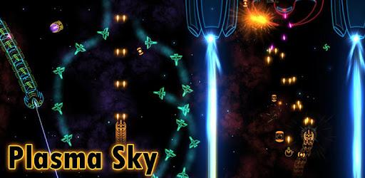 Plasma Sky - rad space shooter captures d'écran
