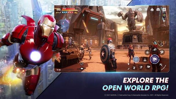 MARVEL Future Revolution Capturas de pantalla