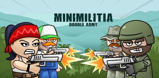 Mini Militia - Doodle Army 2 captures d'écran