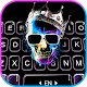 Neon Skull King Keyboard Background for PC