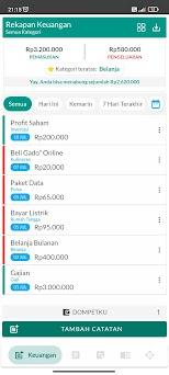 Rekapan | Rekap Keuangan, Rencana, dan Stok Capturas de pantalla