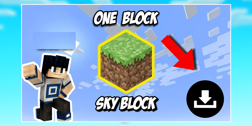 Skyblock one block is a piece of content created by kubo studios for the minecraft marketplace (minecraft: One Block Survival Map For Minecraft By Draggaappllc Android Apps Appagg