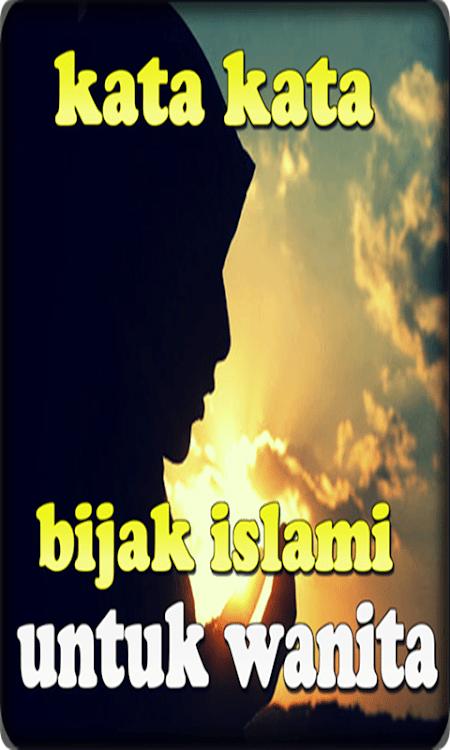 Kata Kata Wanita Islami : wanita, islami, Bijak, Islami, Untuk, Wanita, (Android, Aplikacje), AppAgg