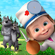 Masha and the Bear: Free Animal Games for Kids for PC