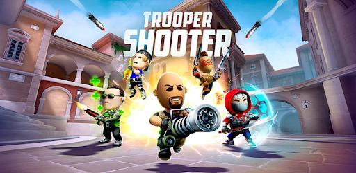 Trooper Shooter : jeu FPS d'attaques décisives captures d'écran