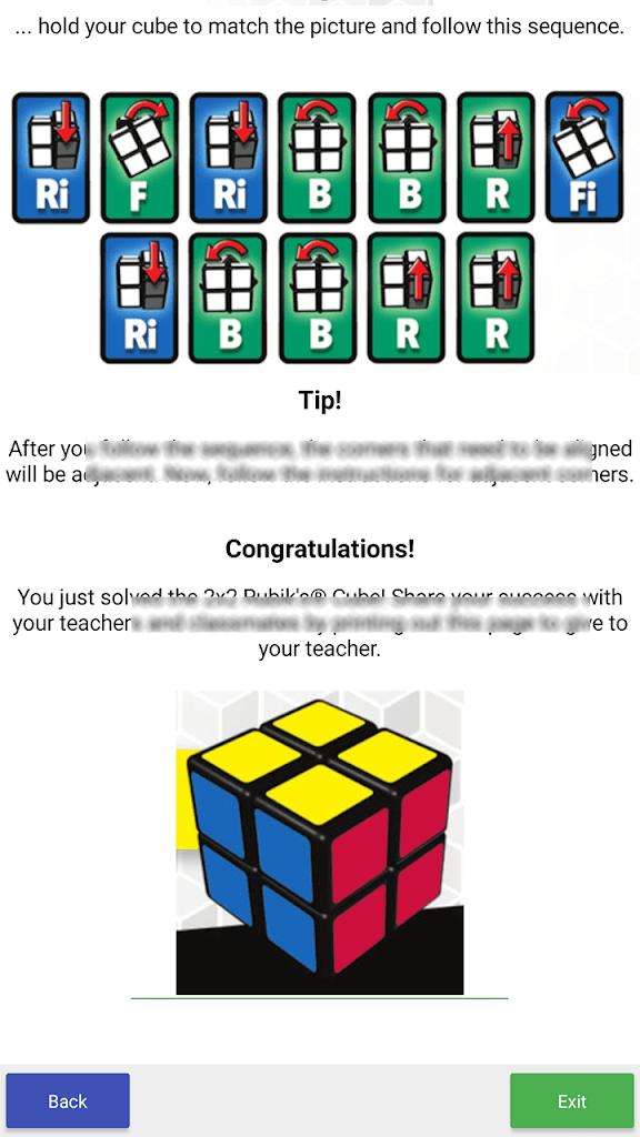 Site rubik's cube - Internet / Réseaux sociaux - Comment