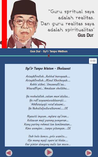 Free Download Mp3 Syi Ir Tanpo Waton Gusdur : download, tanpo, waton, gusdur, Download, Humor,, Nasehat, Syiir, Latest, Version, Android