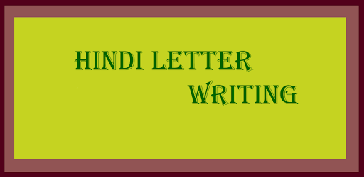 hindi letter writing apps on google play