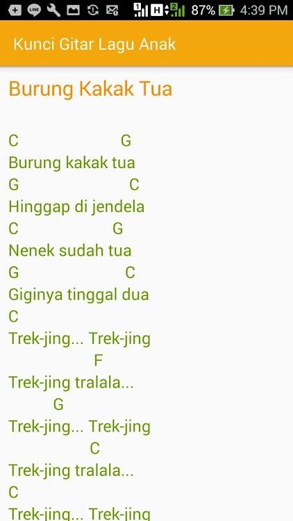 Cicak Cicak Di Dinding Chord : cicak, dinding, chord, Kunci, Gitar, (Android, Aplicaciones), AppAgg