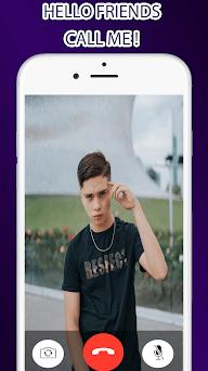 Fake Call de Cesar Pantoja - Prank Video Call Capturas de pantalla