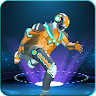 Flying Robot Hero : Robot Run game apk icon