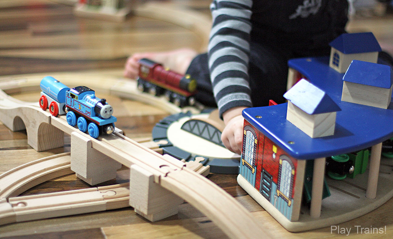 Wooden Train Tracks  The Play Trains Ultimate Wooden