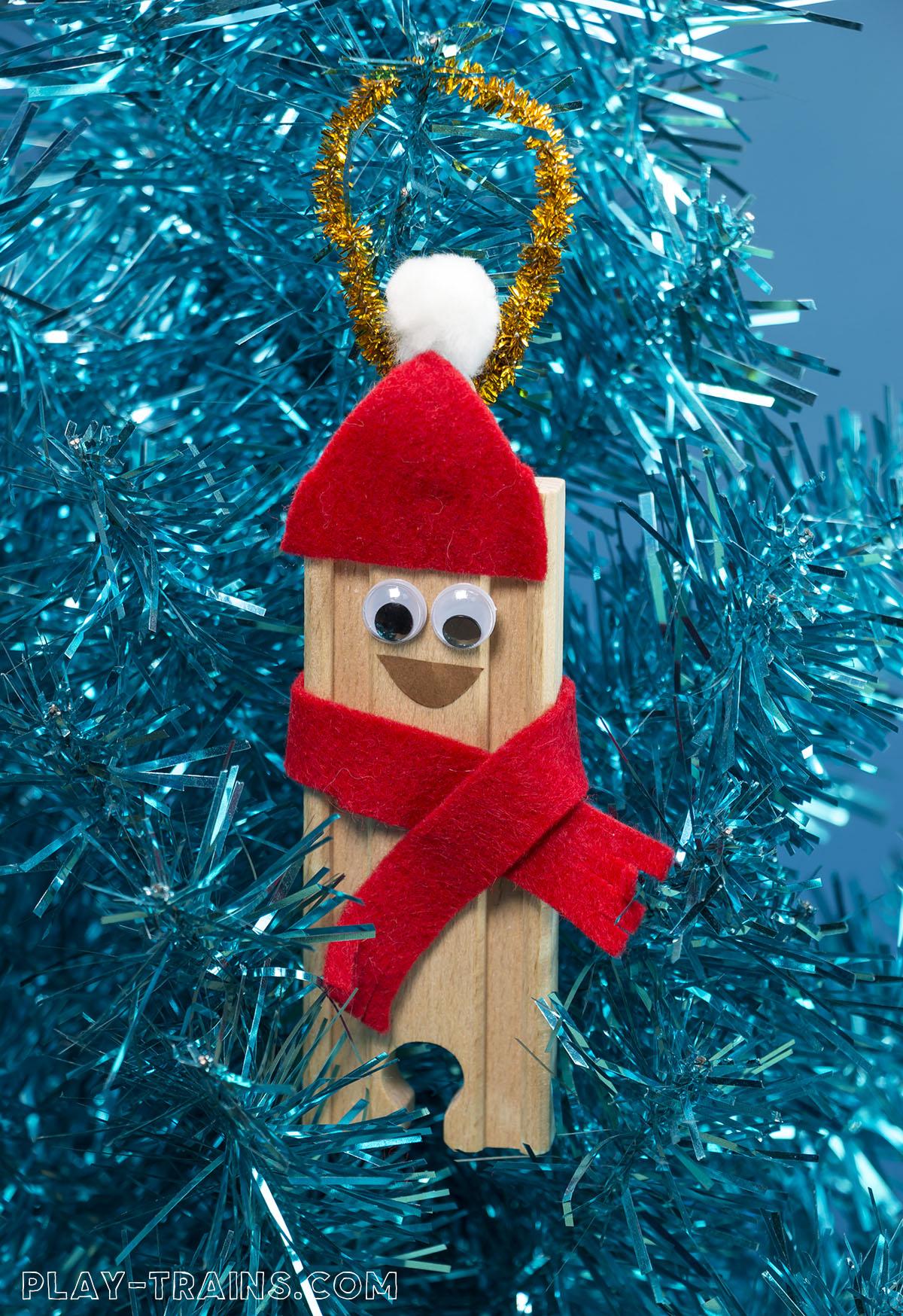 Train Christmas Decorations