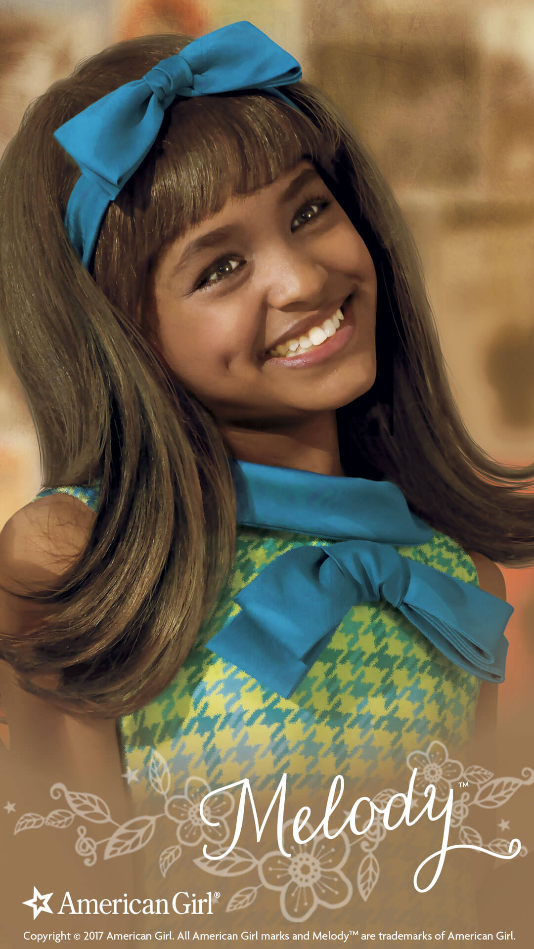 American Girl Doll Wallpaper Melody Ellison 1964 Beforever Play At American Girl