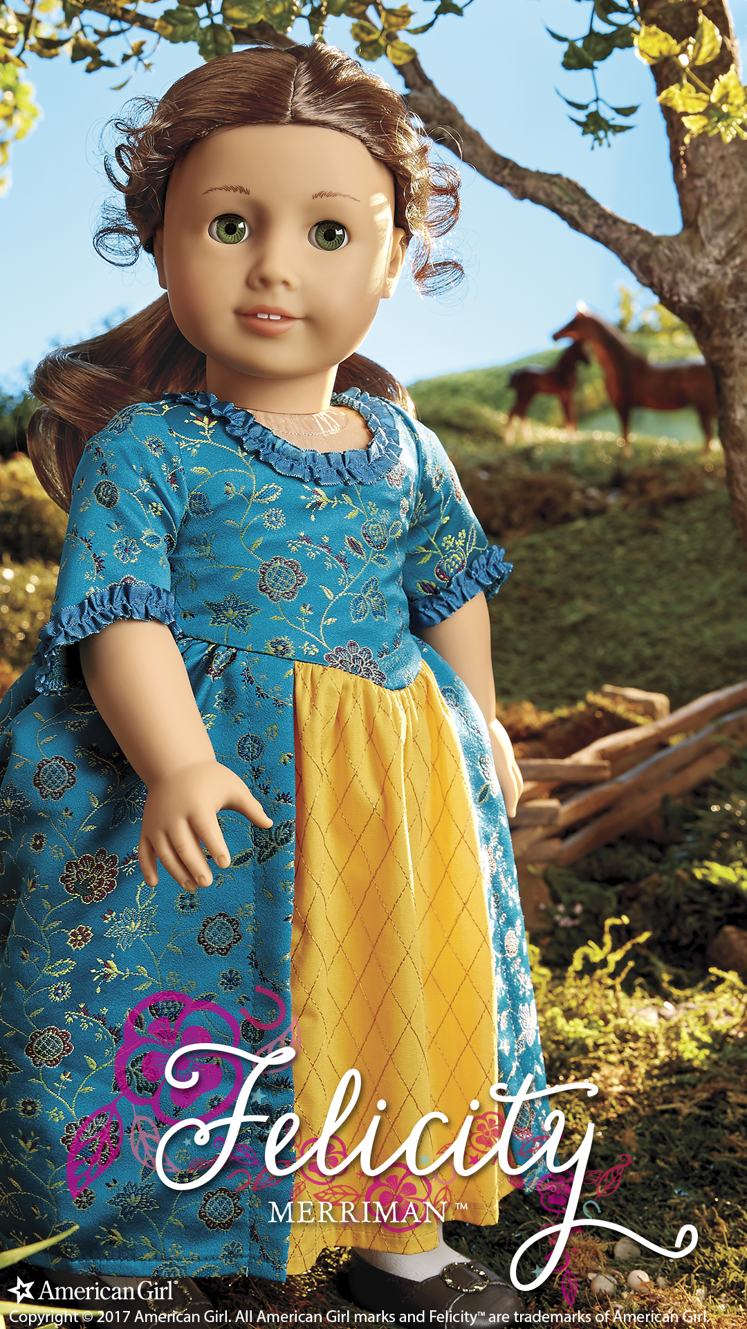 American Girl Doll Wallpaper Felicity Merriman 1774 Beforever Play At American Girl