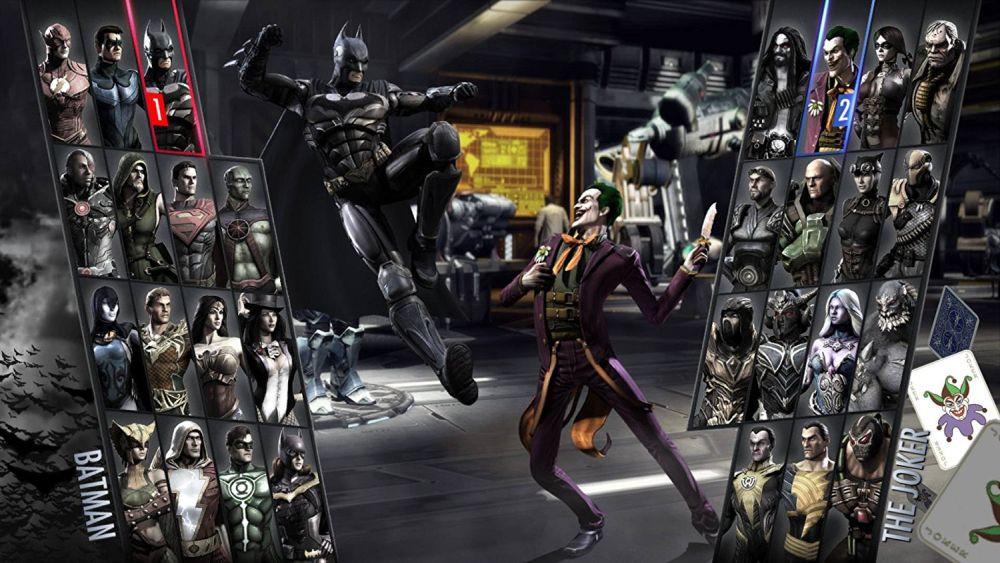 Injustice 1 Batman v Joker