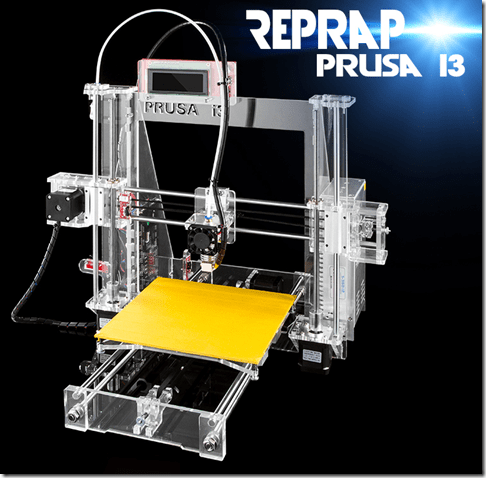 Sunhokey Prusa i3 3D Printer Kit