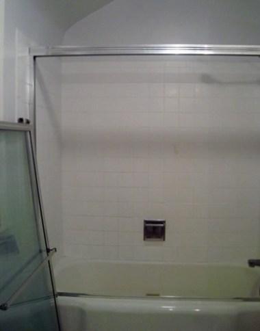 DIY plumbing bathtub door removal