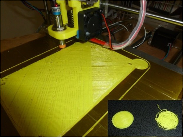 extruder failure results in stringy print