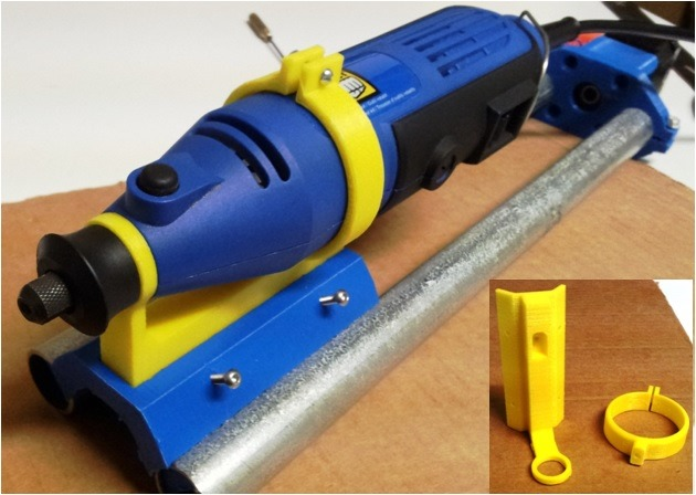 Powerfist Rotary Tool Holder for MPCNC - Making It Up