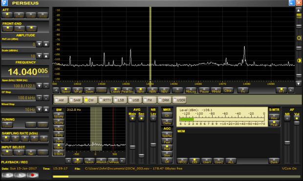 recording radio signals