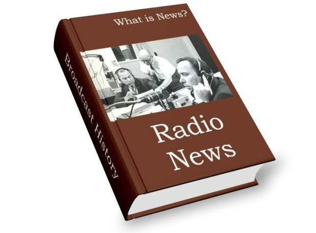 define radio news