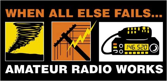 Hurricane Ham Radio - Backing Up the Pros - Making It Up