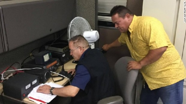 hurricane maria radio communications