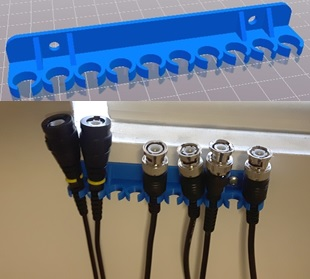 lab cable hanger