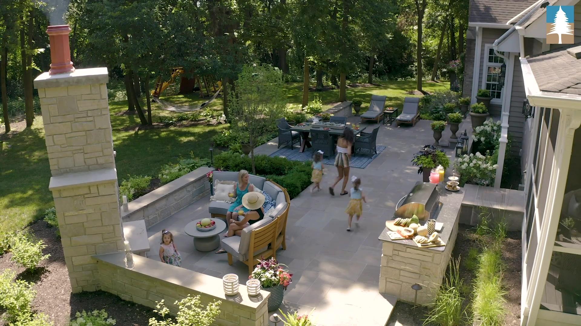 bluestone patio design installation