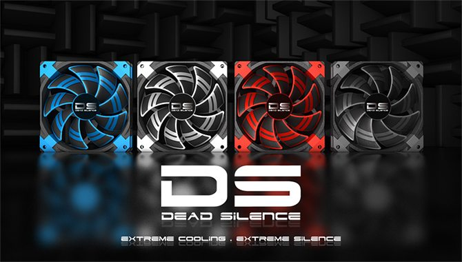 Aerocool Presents Innovative 140 and 120mm Dead Silence Case Fans With Dual-Layer Blades