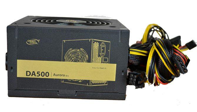 DEEPCOOL DA500 Power Supply Overview