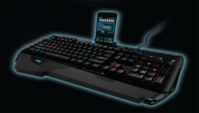 Logitech Engineers Most Advanced Mechanical Gaming Keyboard