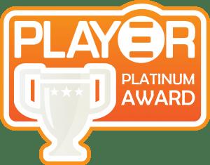 The Play3r Platinum Award