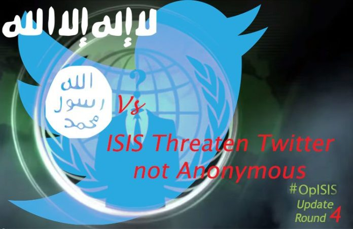 ISIS Wages War at Twitter, not Anonymous