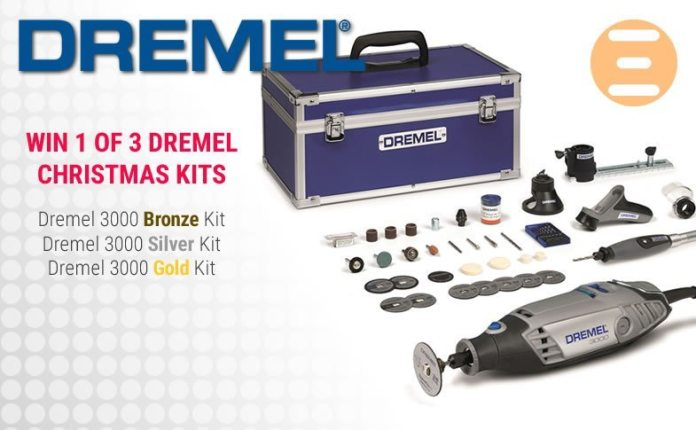 Win 1 of 3 Dremel 3000 Multitool Christmas Kits With Play3r & Dremel (Worldwide) 5