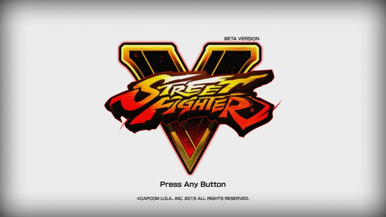 A look at the Street Fighter V beta