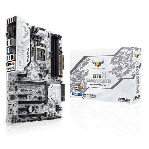 ASUS Announces The TUF Sabertooth Z170 S Motherboard 1